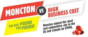 Moncton VS High Business Cost