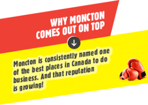 Why Moncton comes out on top?