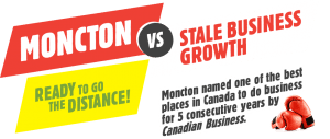 Moncton VS Stale Business Growth