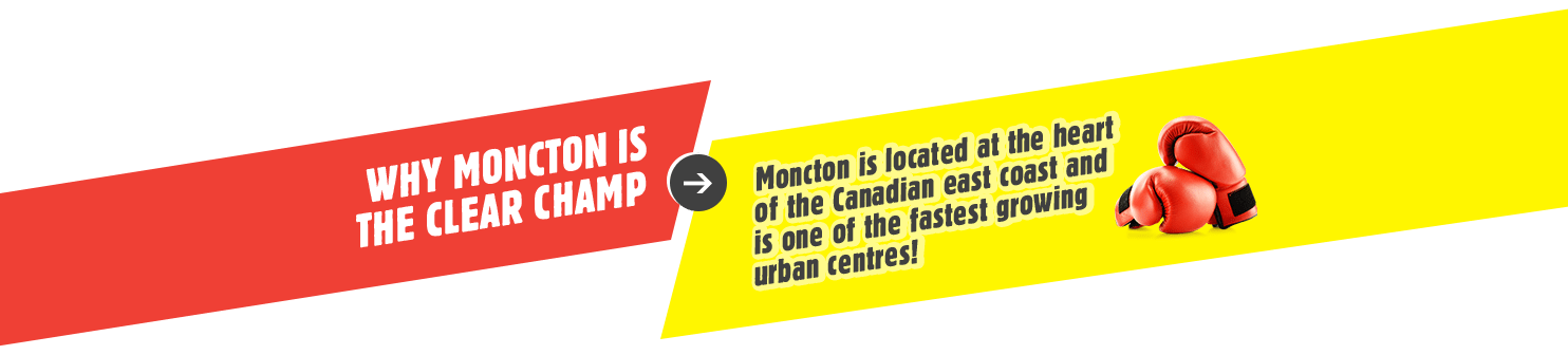 Why Moncton is the Clear Champ?